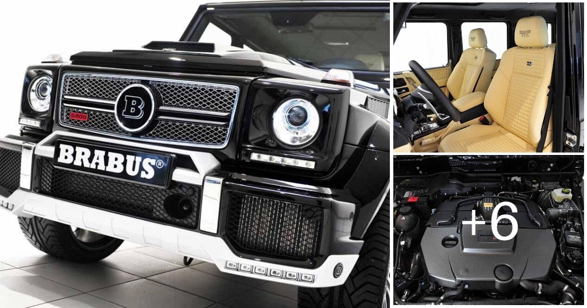 Mercedes-Benz G-CLASS - BRABUS WIDESTAR 800 W463