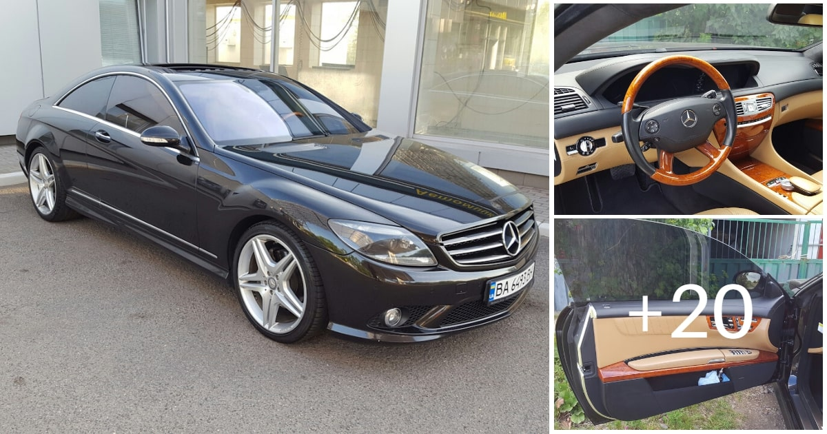 Mercedes-Benz CL550 AMG 2007 388HP W216
