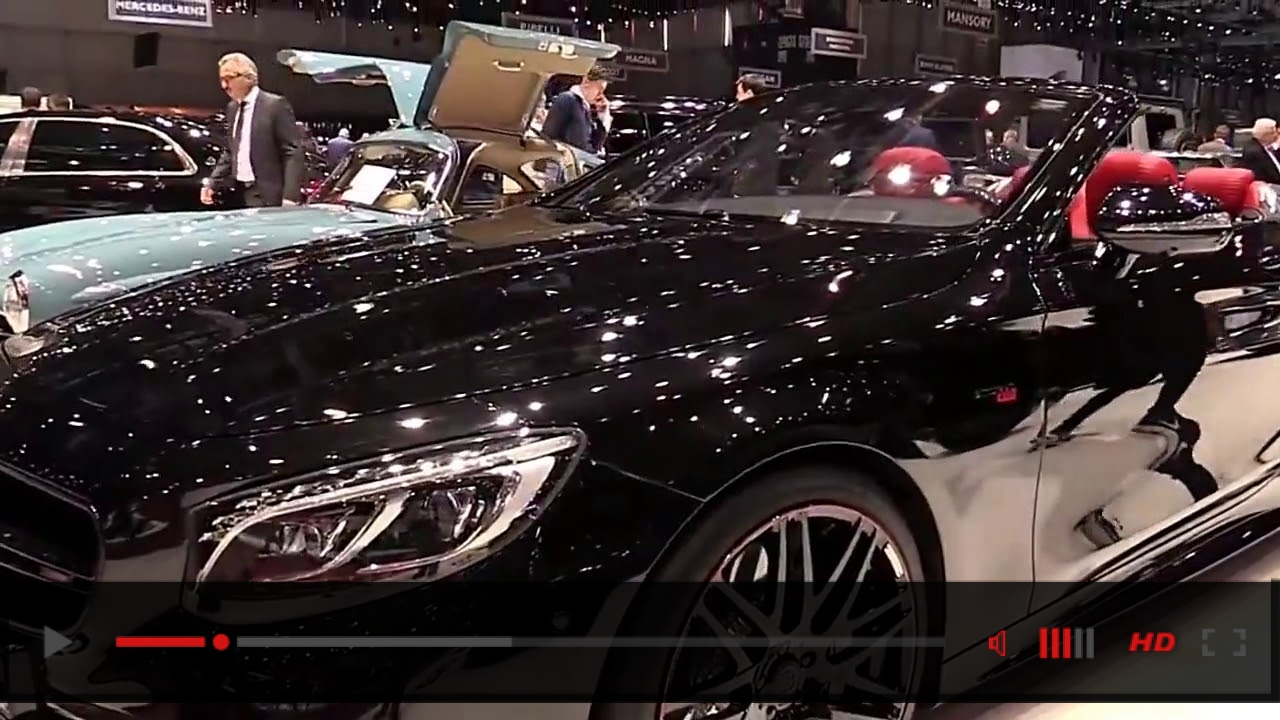 2018 Mercedes AMG S63 Cabrio Brabus Edition Pro Design Special Limited