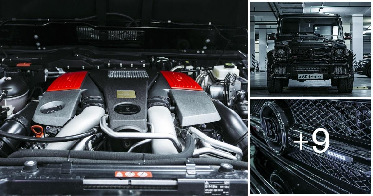 Mercedes-Benz G63 AMG Brabus G700 W463