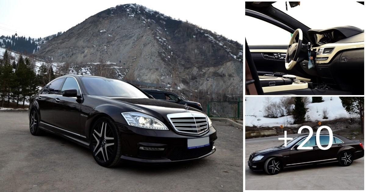 Mercedes-Benz S65 AMG W221 Designo