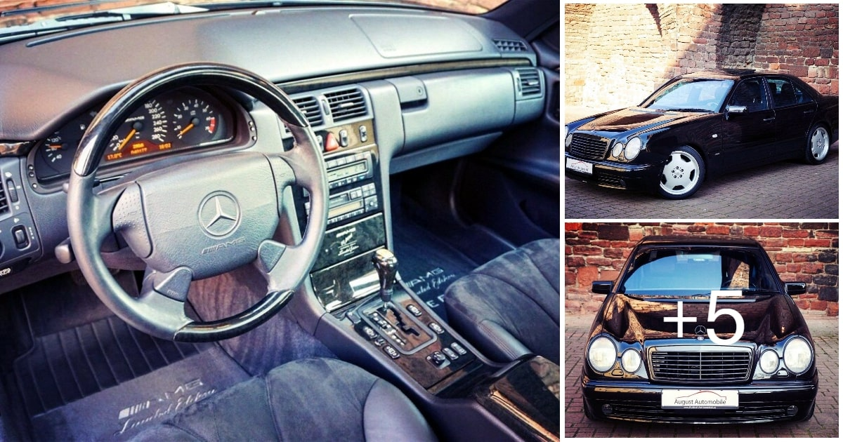 Mercedes-Benz E60 AMG W210 Limited Edition 1997