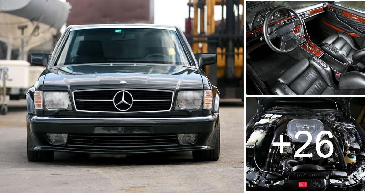 Mercedes-Benz 560SEC AMG 1990