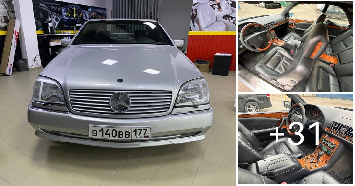 Mercedes-Benz CL500 C140 320HP 1998