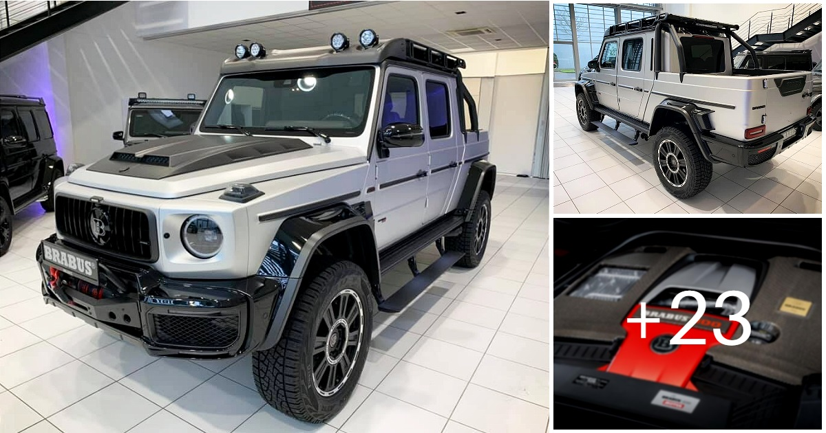 Mercedes-Benz BRABUS 800 ADVENTURE XLP (26 photos, 6 videos)