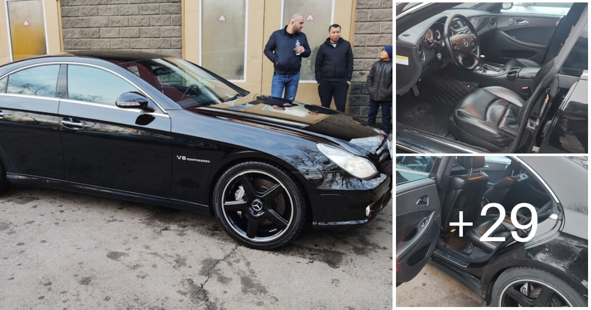 Mercedes CLS 55 AMG Black