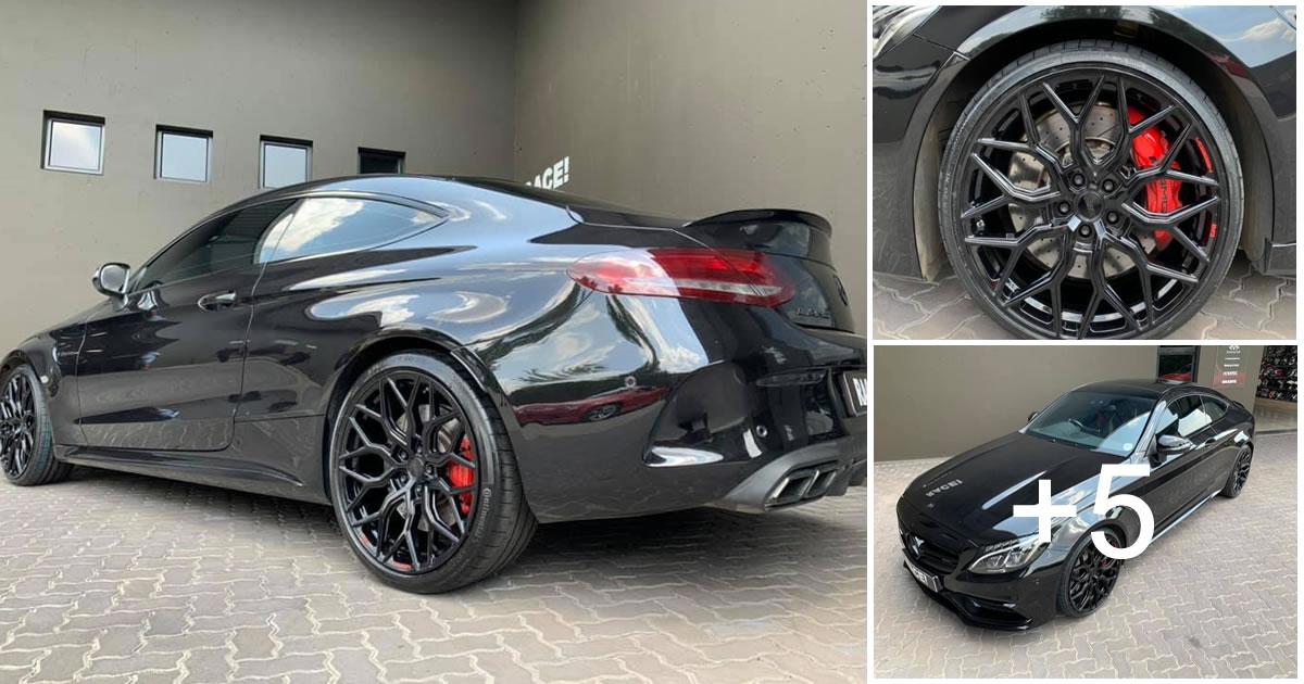 Mercedes-Benz AMG C63s Luxury Performance Coupe