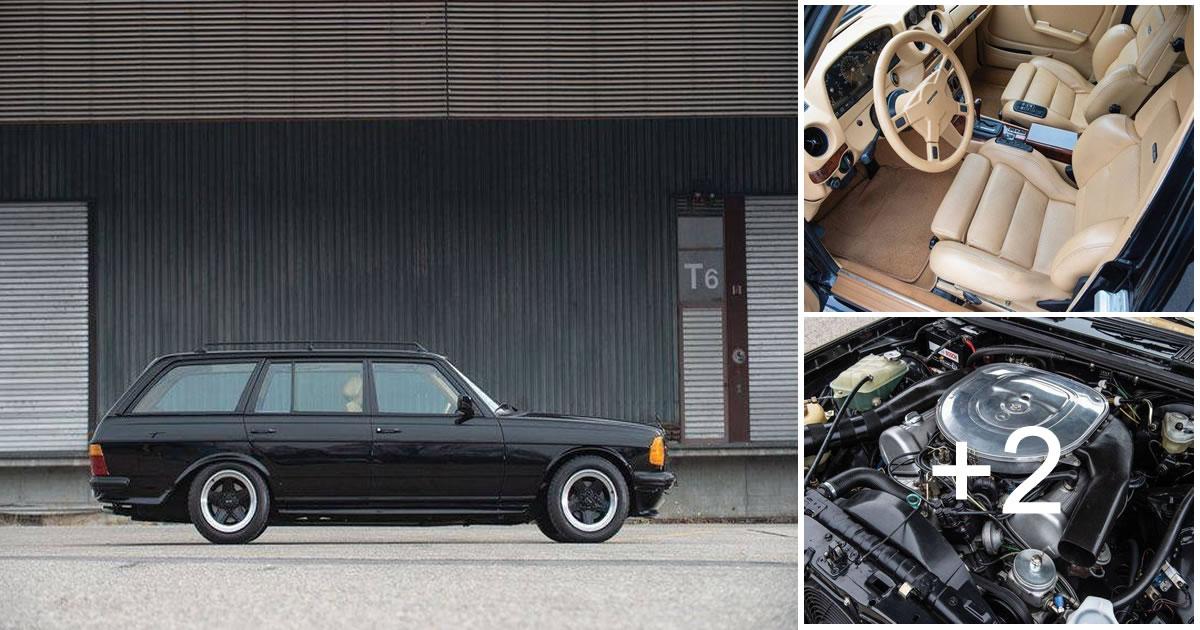 276HP Mercedes-Benz 500TE AMG 5,0 V8