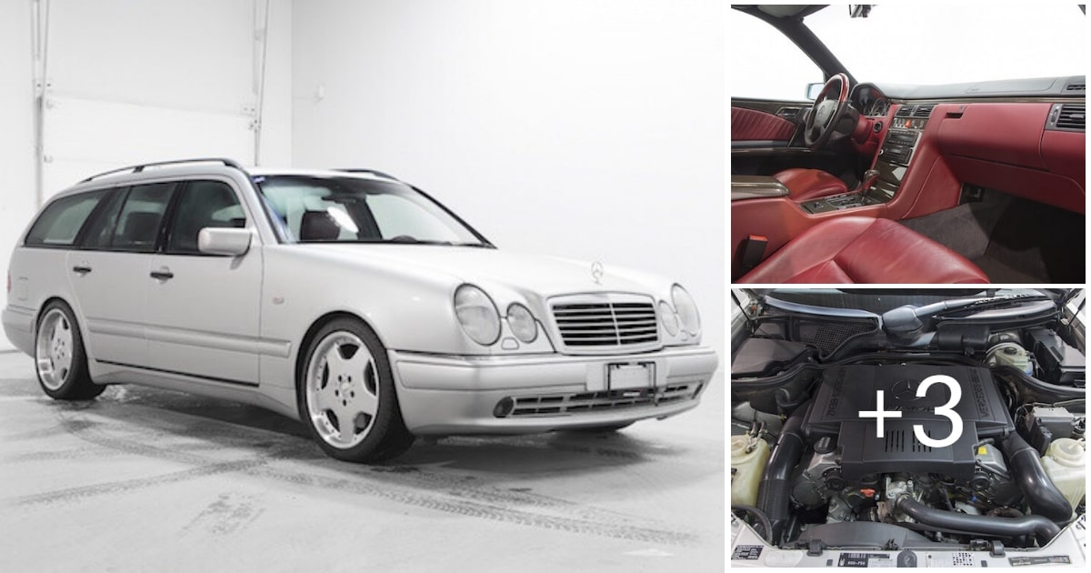 1998 Mercedes-Benz E60 AMG Estate