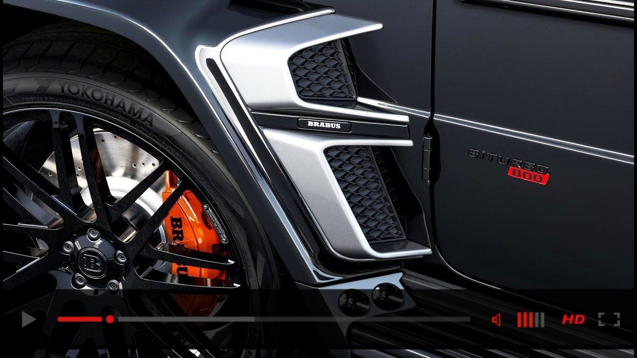 BRABUS 800 WIDESTAR - 800 horsepower for perfect SUV