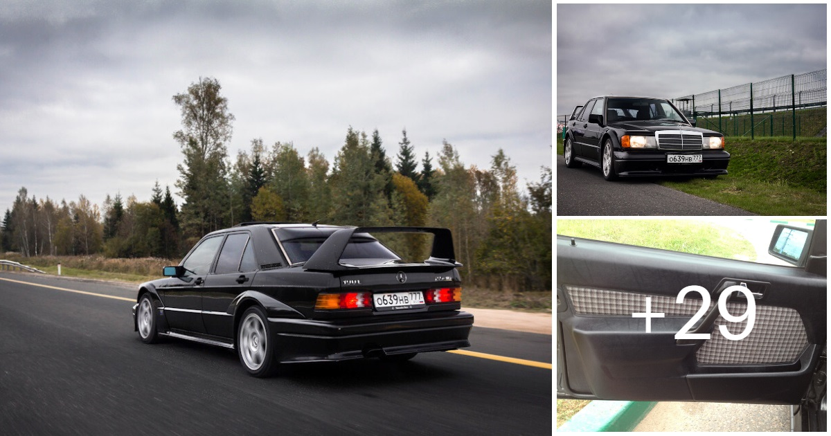 Mercedes-Benz 190 E 2.5-16 Evolution II (32 Photos, 3 videos)
