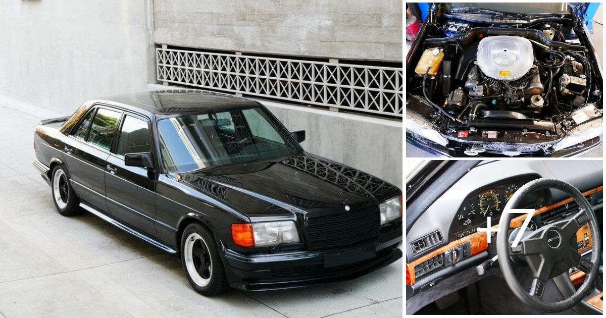 Mercedes-Benz 500SEL AMG Edition 1983