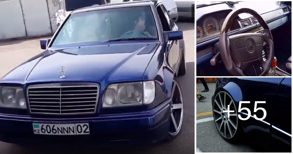 Mercedes-Benz E55  W124 Kompressor (58 photos, 9 videos)