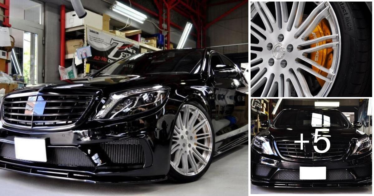 Mercedes-Benz S550 AIMGAIN W222