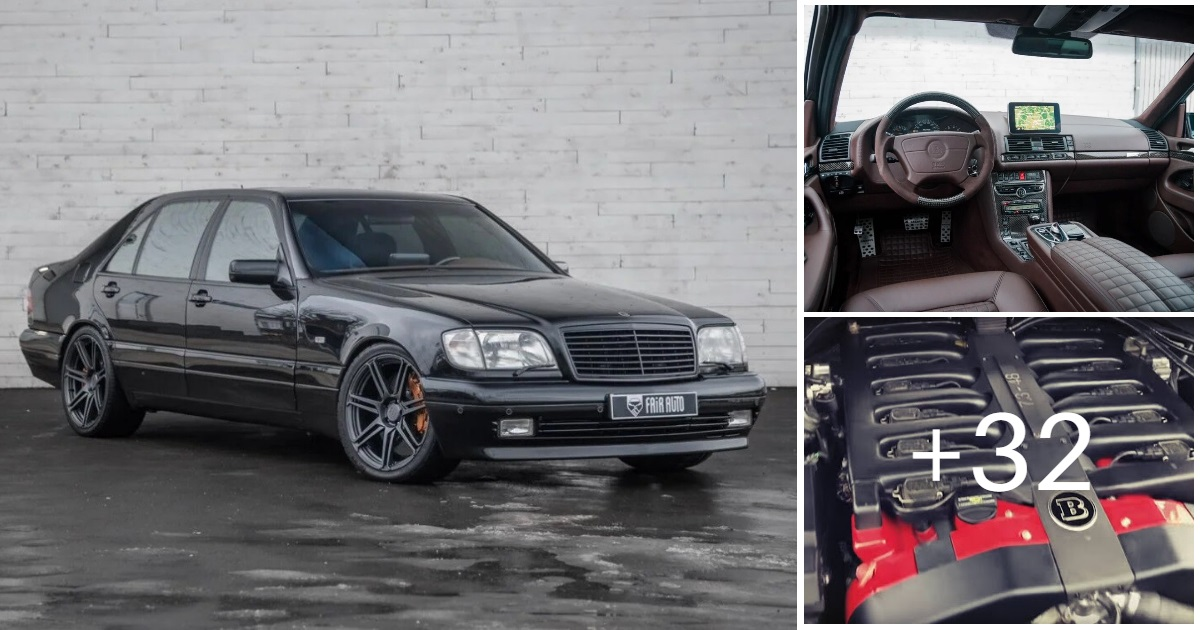 Mercedes-Benz S600 W140 Brabus 7.3 (35 photos, 4 videos)
