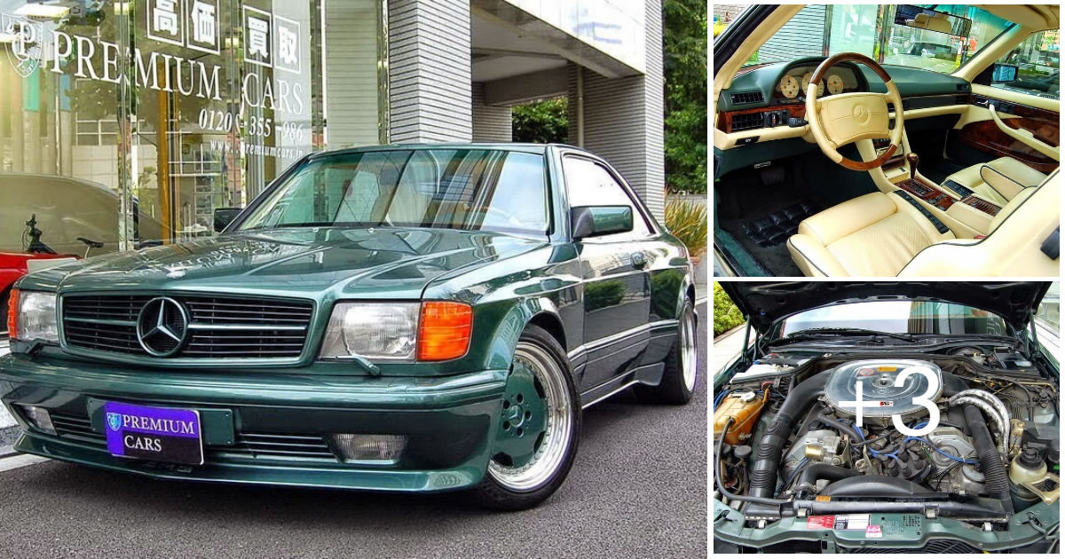 Amazing Mercedes-Benz SEC AMG Edition W126