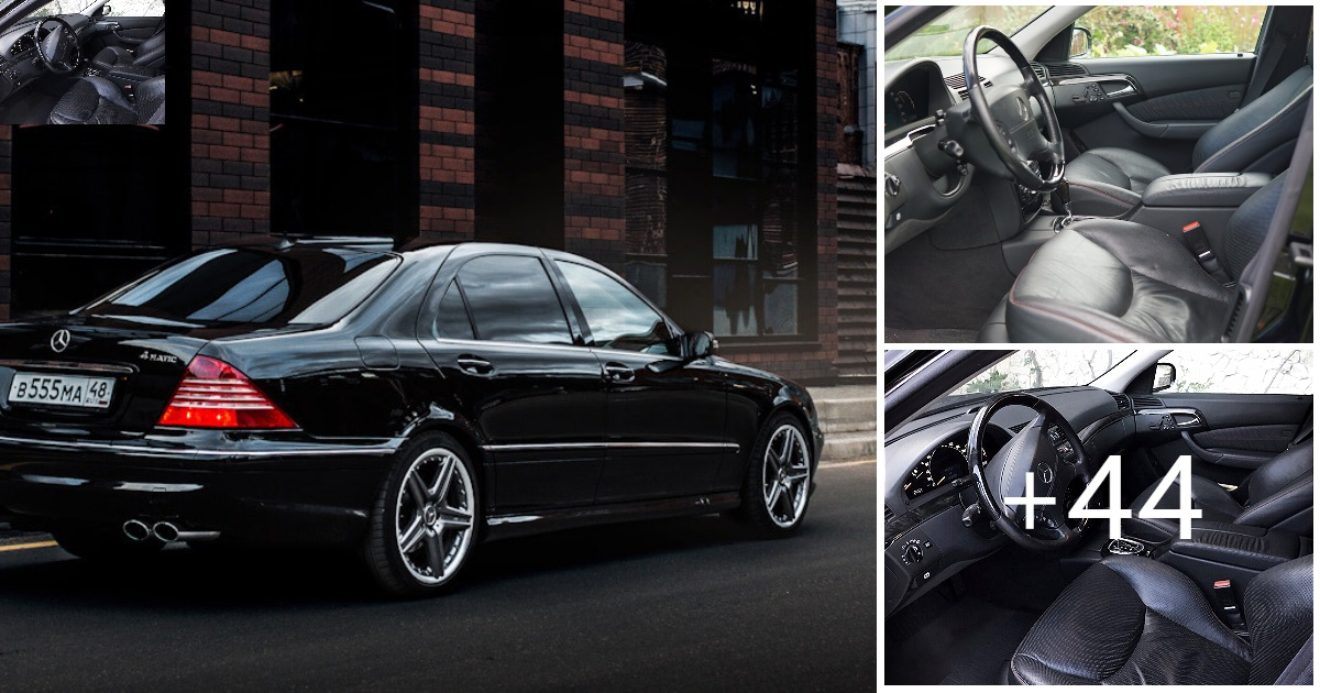 Mercedes S-class W220 EXCLUSIVE S55 AMG 4MATIC (47 Photos, 5 Videos)