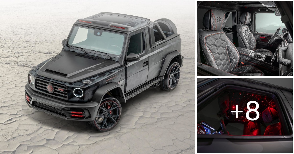 2020 Mercedes-Benz G-class Star Trooper Pickup by Mansory