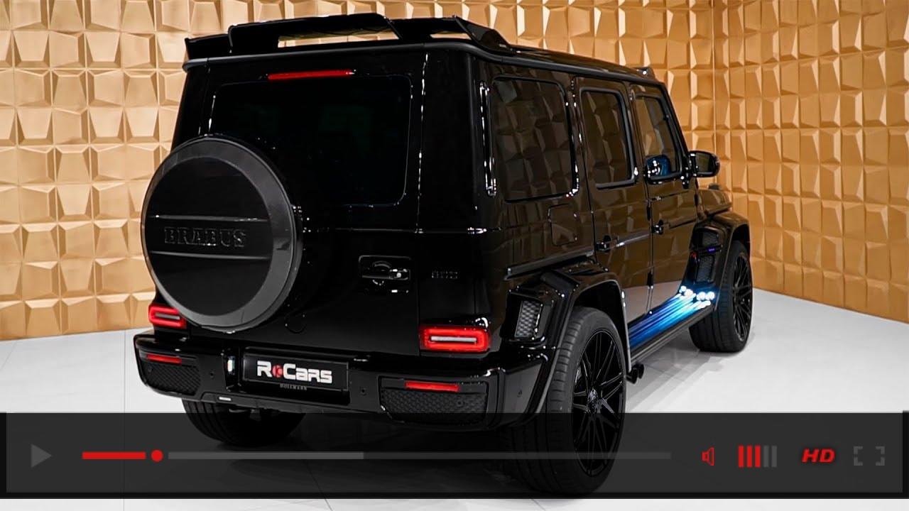 2020 Mercedes G 63 Brabus 800 WIDESTAR - 1000NM G-Wagon from BRABUS