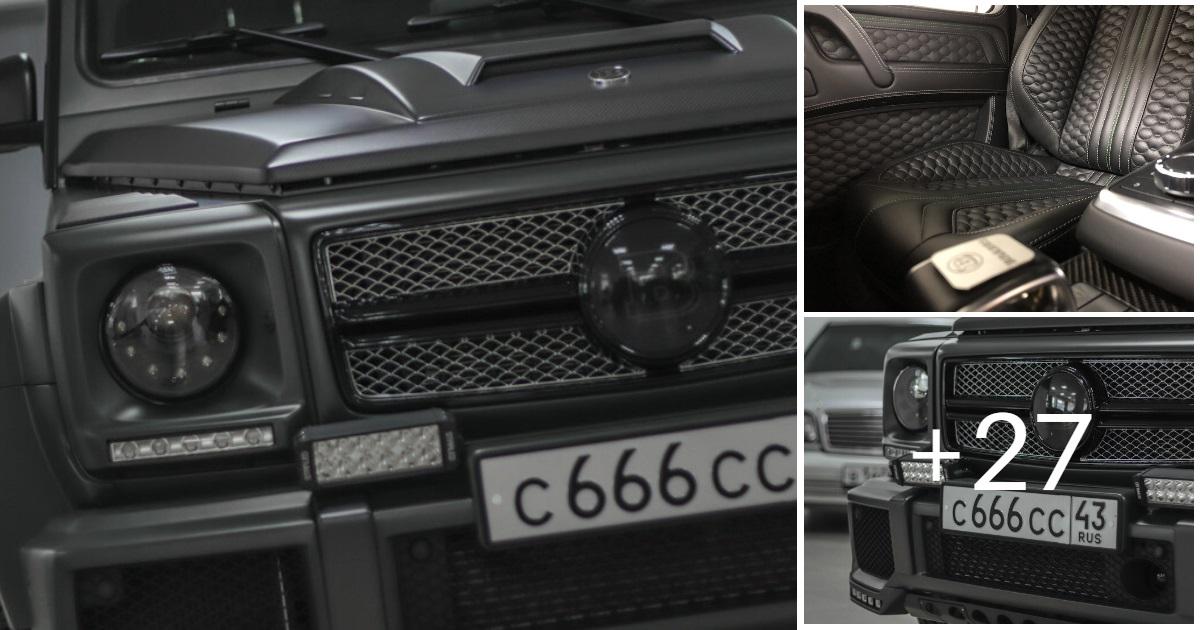 Mercedes-Benz G63 AMG 5.8 982HP 2012