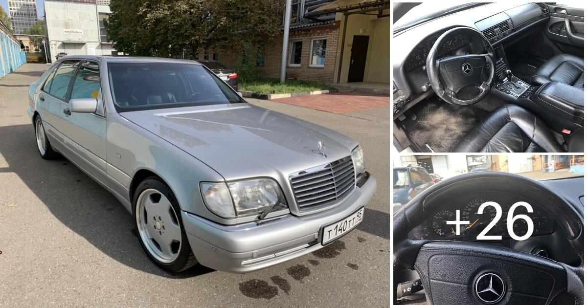 Mercedes-Benz S500 AMG W140