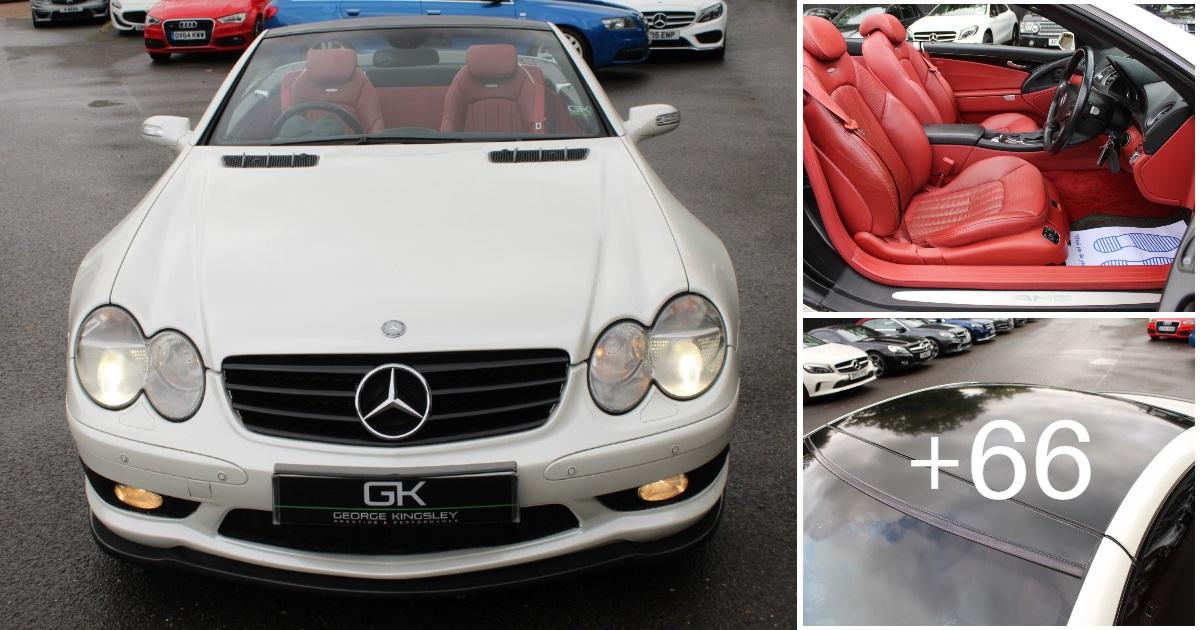 Mercedes-Benz SL55 AMG KOMPRESSOR R230 For Sale