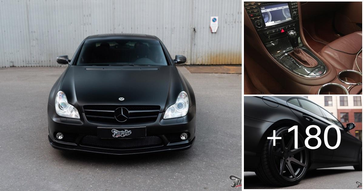 Mercedes-Benz W219 CLS Carbonized (183 photos, 2 videos)