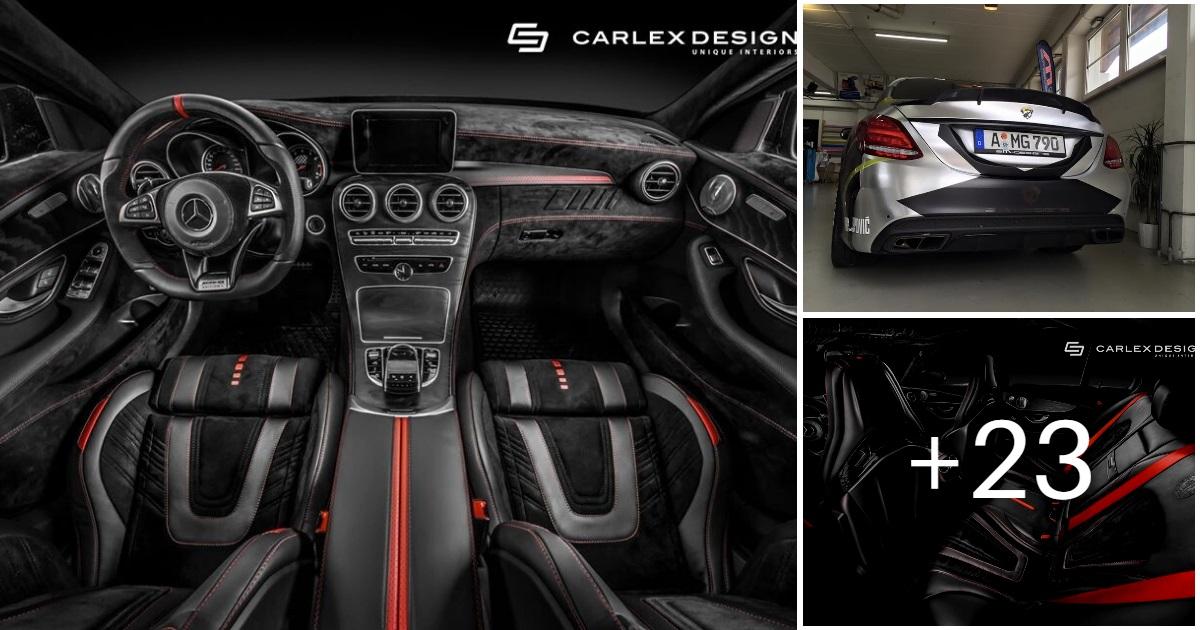 Mercedes C43 AMG by Carlex Design