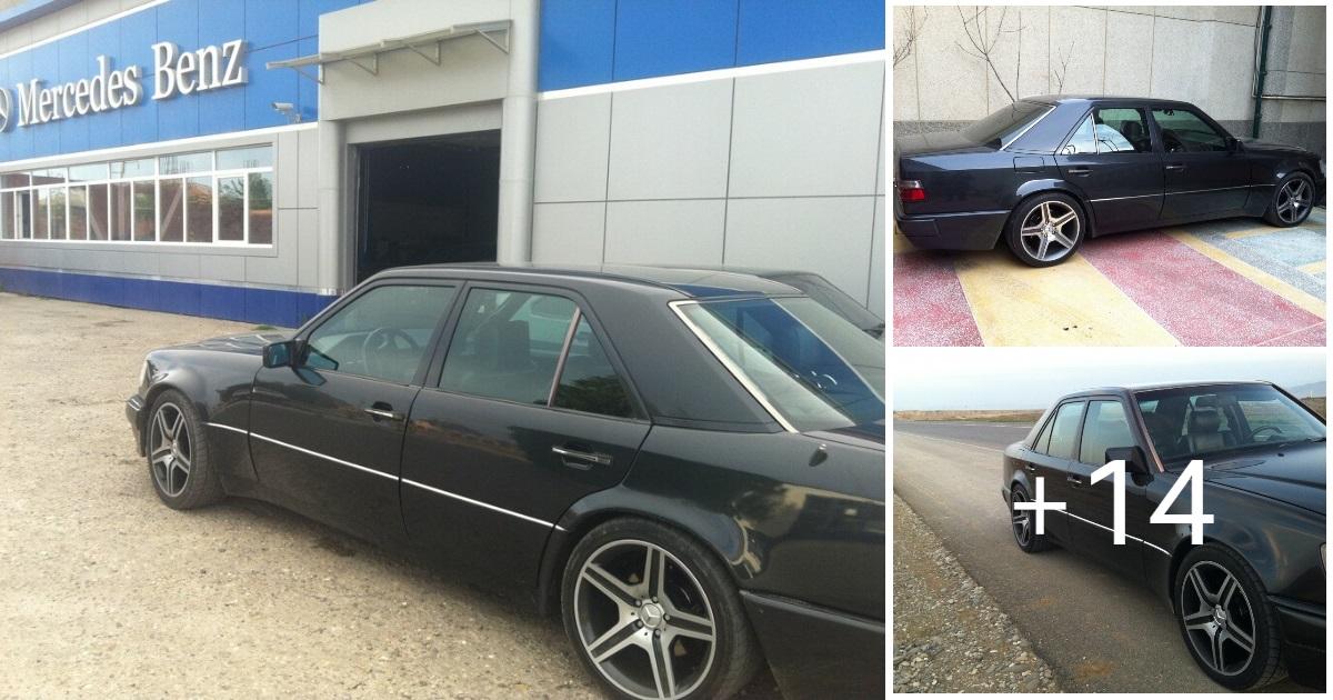 Mercedes E-class W124 E500 Black
