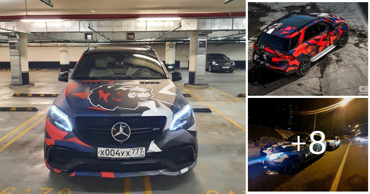 Mercedes GLE 63 AMG (11 photos, 3 videos)