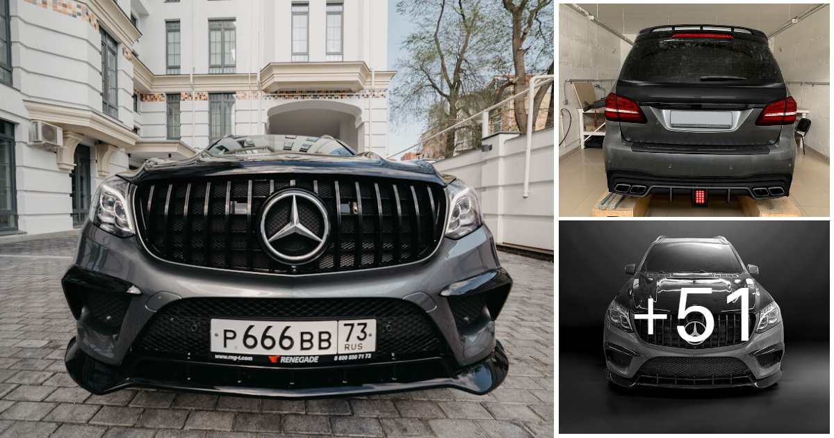 Mercedes-Benz GLS X166 RENEGADE Design