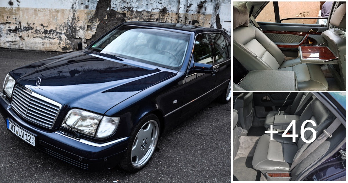 Mercedes S-class S600 V12 W140 (59 photos, 1 video)
