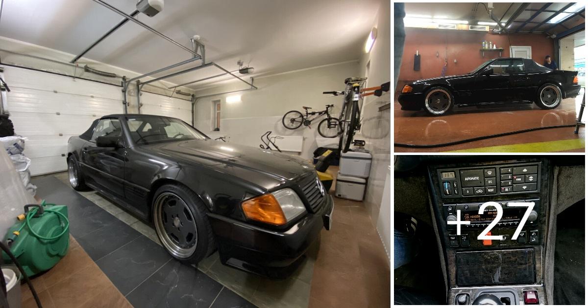 Mercedes SL60 AMG R129 6.0 V12 1995