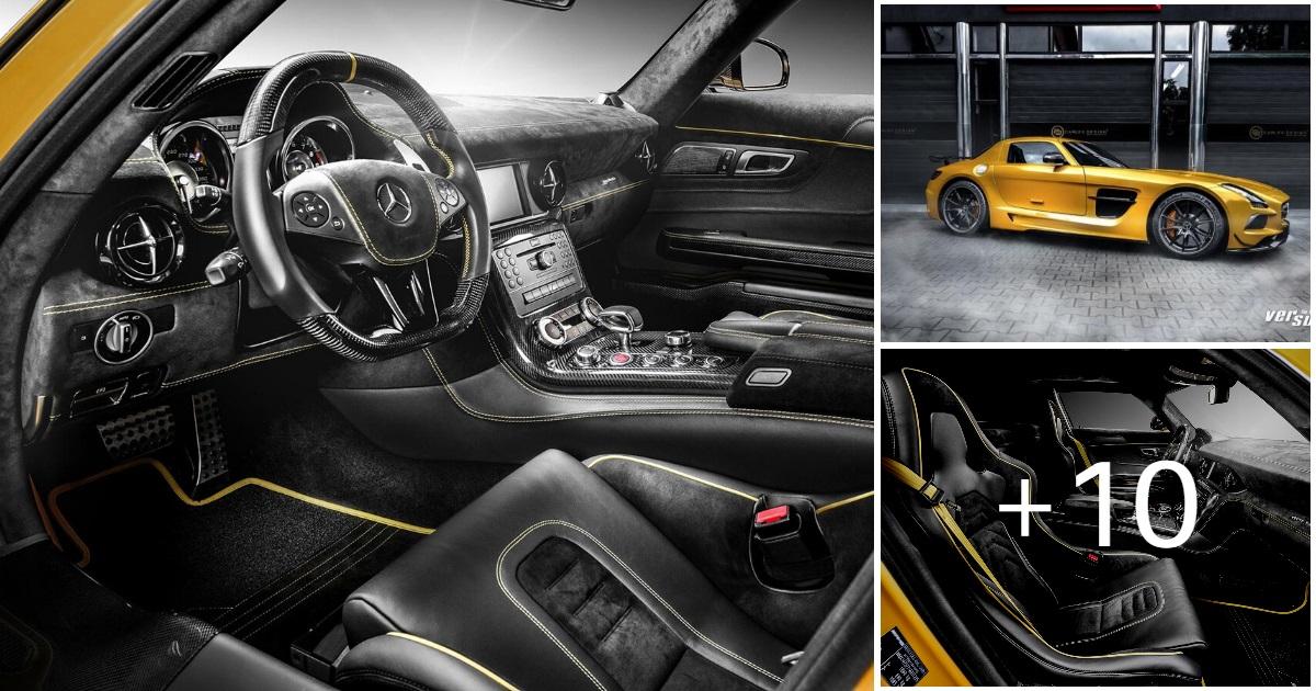 Mercedes SLS AMG by Carlex Design