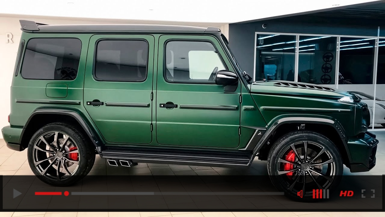 Mercedes-AMG G 63 (2019) Inferno - Details Video