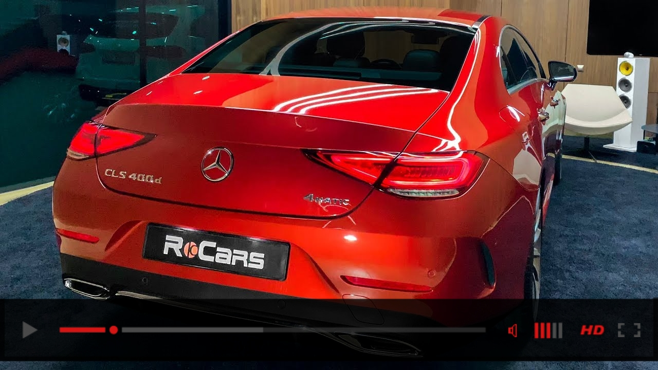 Mercedes CLS (2019) - Beautiful Sports Sedan!