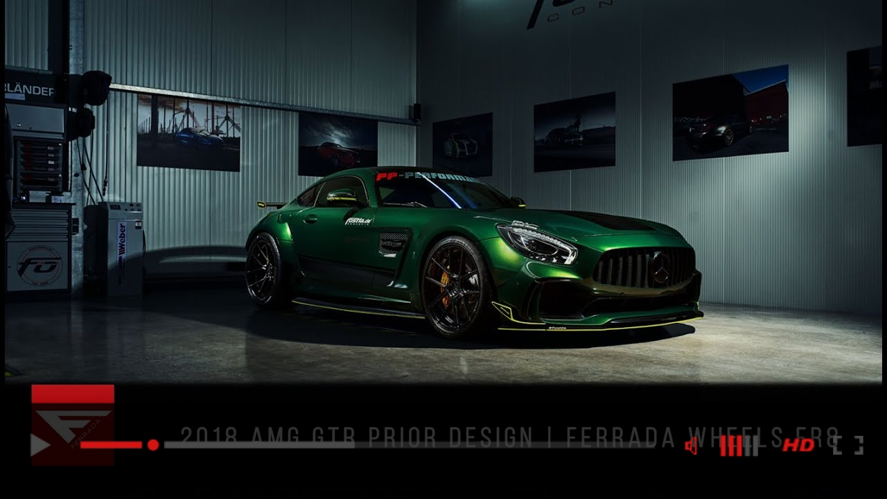 VIDEO: 2018 Mercedes AMG GTR Prior Design | Wide and Aggressive