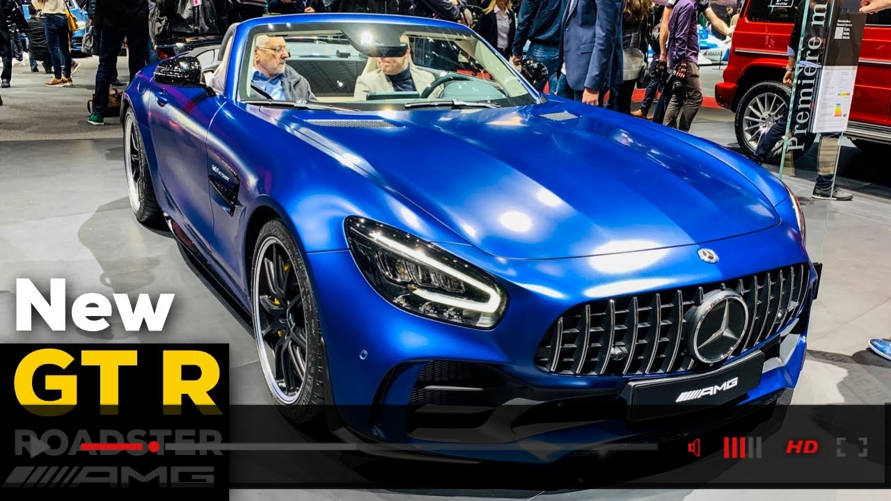 VIDEO: 2019 MERCEDES AMG GT R ROADSTER V8 NEW Review Exterior Interior Infotainment