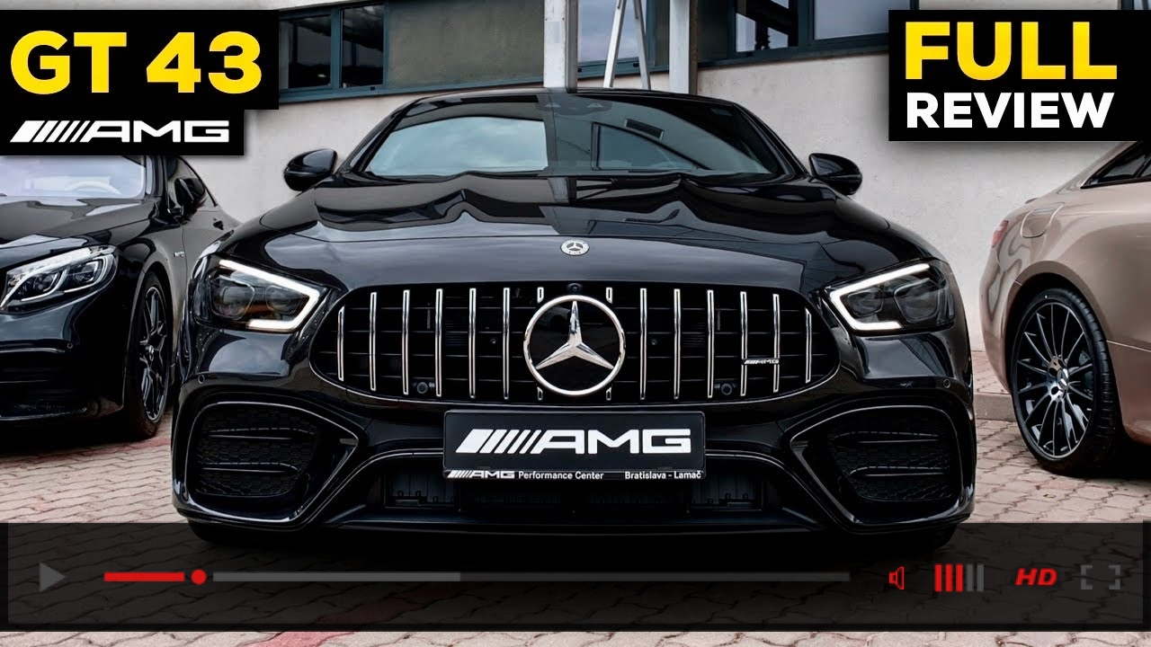 VIDEO: 2020 Mercedes AMG GT 4 Door Coupe NEW GT43 vs GT63 S FULL In-Depth REVIEW Exterior Interior