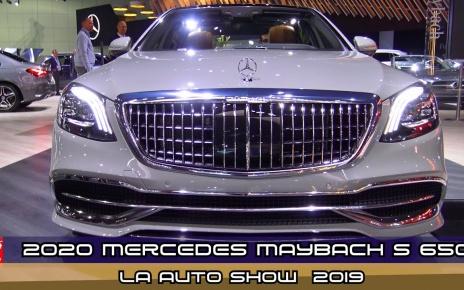 VIDEO: 2020 Mercedes Maybach S 650 Sedan - Exterior And Interior