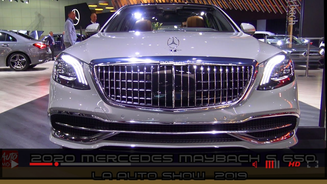 VIDEO: 2020 Mercedes Maybach S 650 Sedan - Exterior And Interior