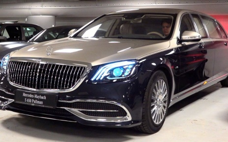 VIDEO: 2020 Mercedes Maybach S650 Pullman Limited 1 of 2 - V12 Full Review Interior Exterior Security