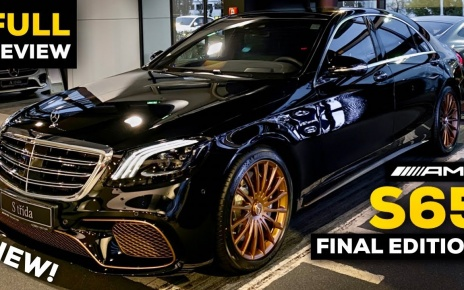 VIDEO: 2020 Mercedes S65 AMG V12 Final S Class Edition FULL Review BRUTAL Sound Exhaust Interior