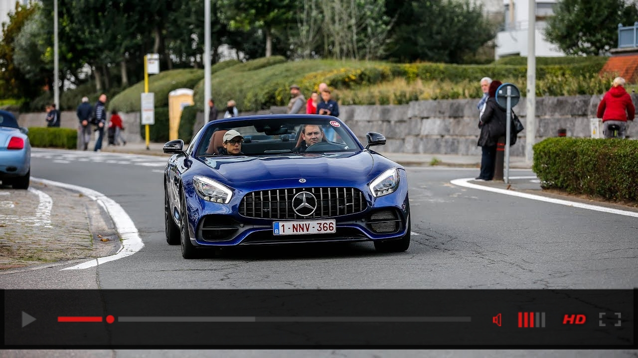 VIDEO: 5x Mercedes-AMG GTC Roadster - Accelerations & Driving!