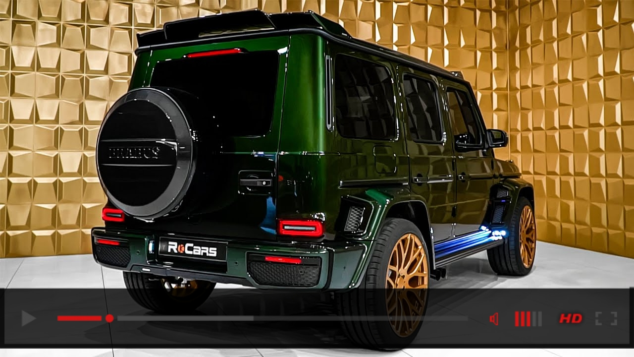 VIDEO: BRABUS 800 (2020) Mercedes AMG G 63 - Excellent G-Class from Brabus