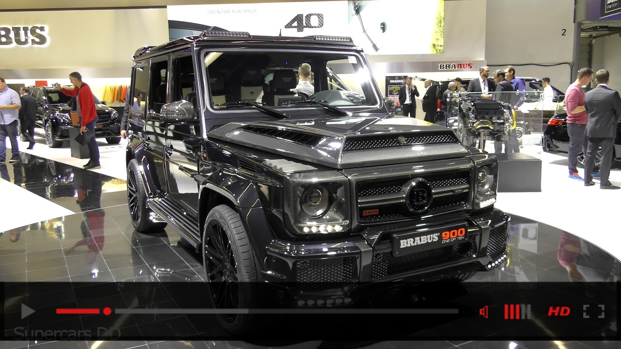 VIDEO: Brabus G900 Rocket - Based On MB G65 Interior and Exterior (4K)