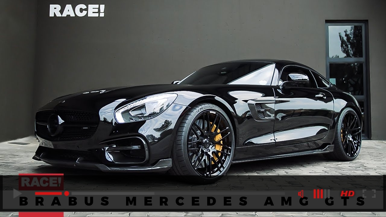 VIDEO: BRABUS Mercedes AMG GTS by RACE!