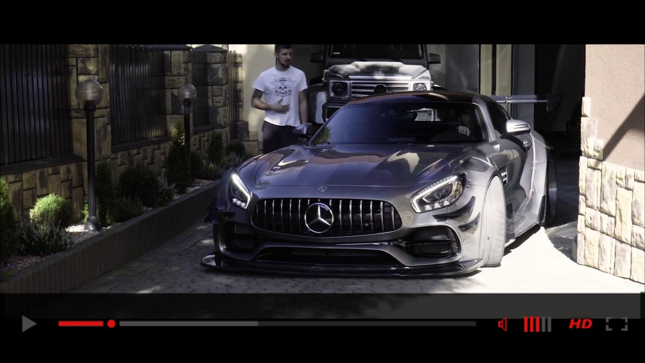 VIDEO: Detailing of Widebody, Mercedes-Benz AMG GTS