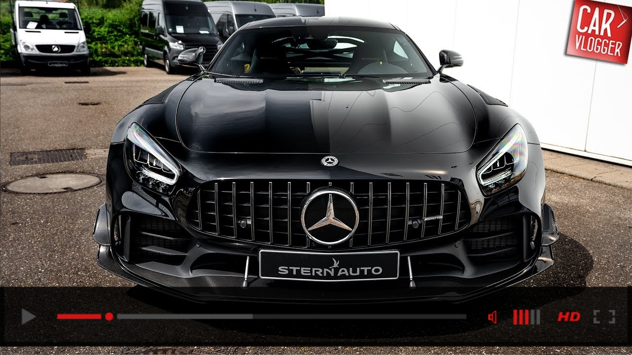 VIDEO: INSIDE the NEW Mercedes-AMG GT-R PRO 2020