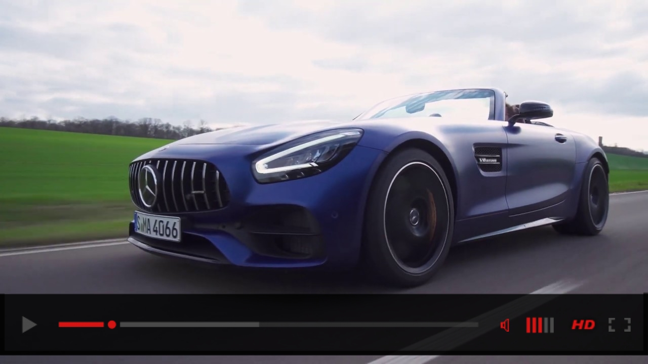 VIDEO: Mercedes-AMG GT C Roadster 2020 – Design, Driving & Sound